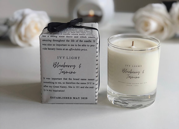 Ivy Light Candle in Blueberry & Jasmine