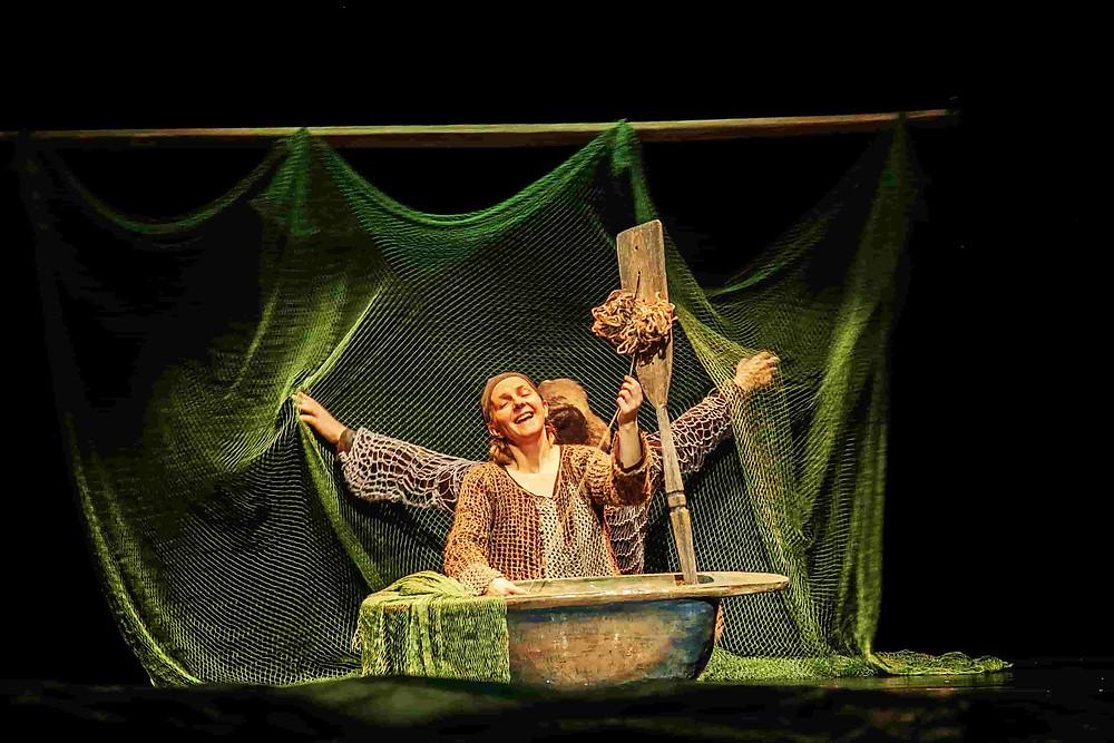 THE FISHERMAN AND THE FISH © Théâtre de marionettes de Petrazavodsk