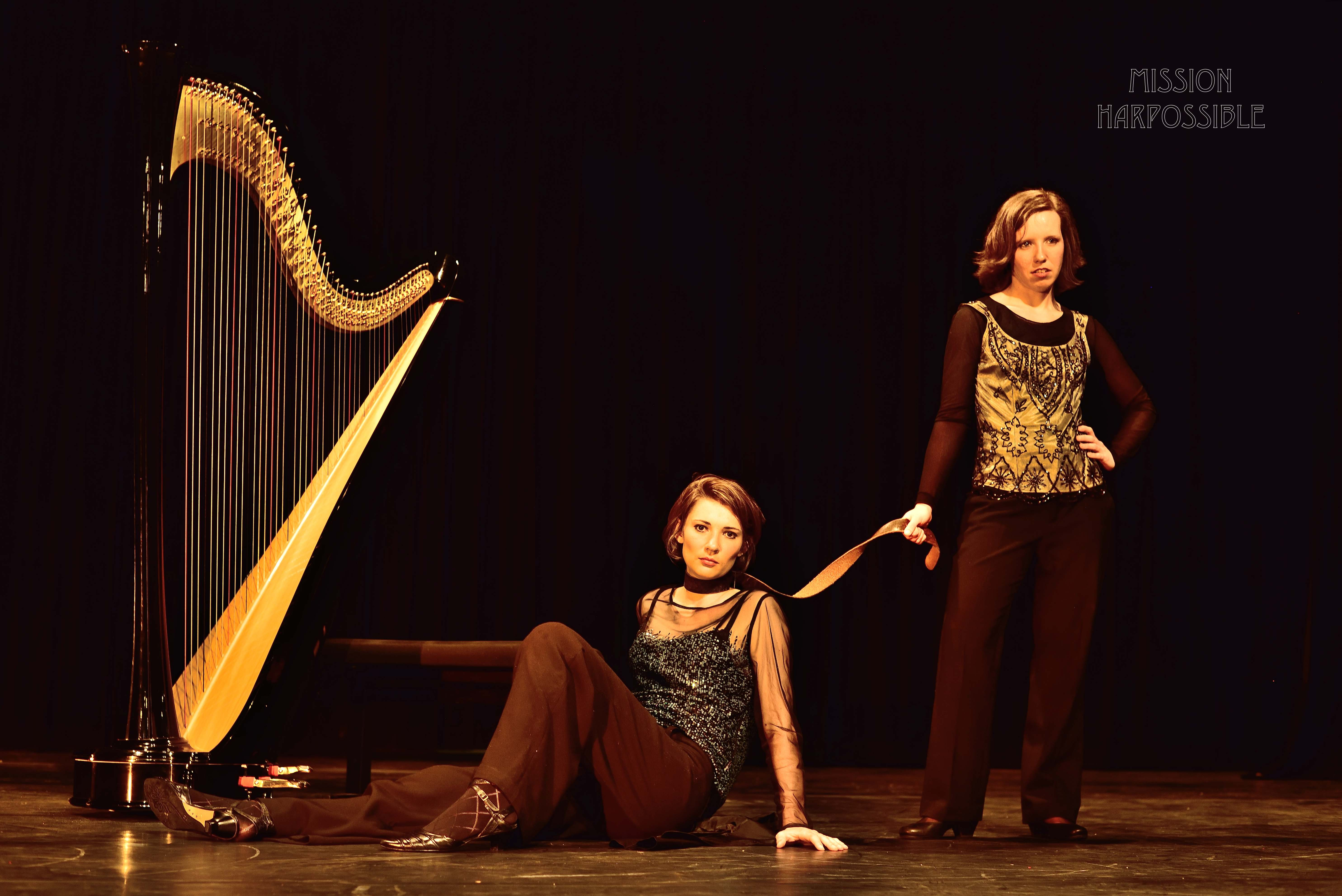 Claire Iselin et Alicia Griffiths