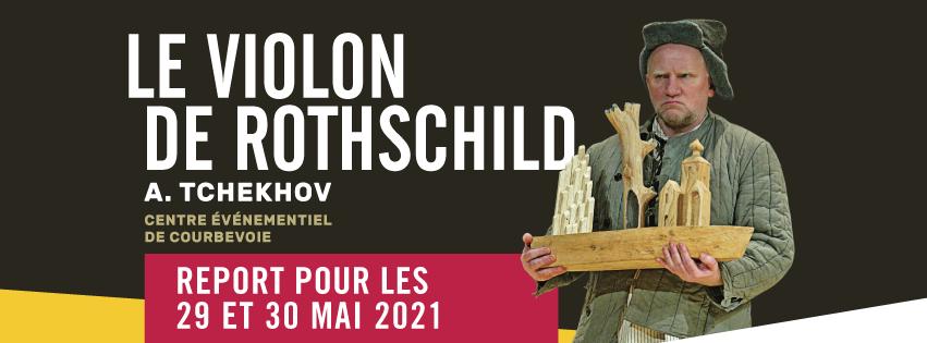 """Tournée du spectacle """"Le Violon de Rothschild"""""""