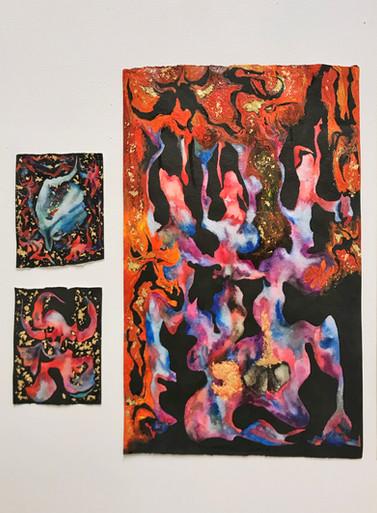 Seven Devils drawing set