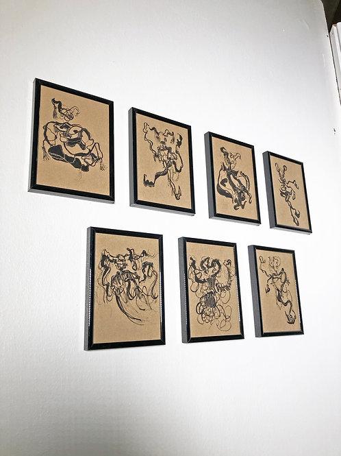 Limited Edition Seven Devils print set