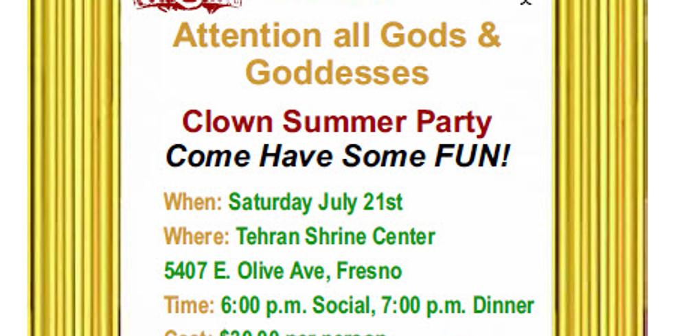 Clown Summer Party