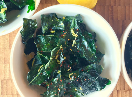 Recipe: No Waste Broccoli Leaf Chips