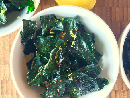 Recipe: No Waste Broccoli Leaf Chips