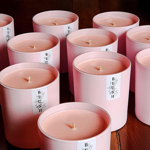 Peony Blush Pink Candle