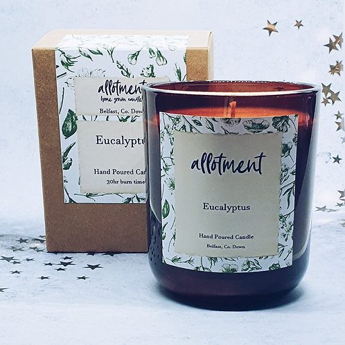 Eucalyptus Essential Oil Soy wax Candle