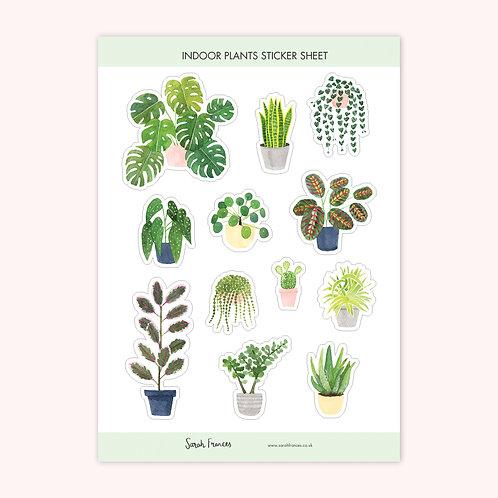 Indoor Plants Stickers