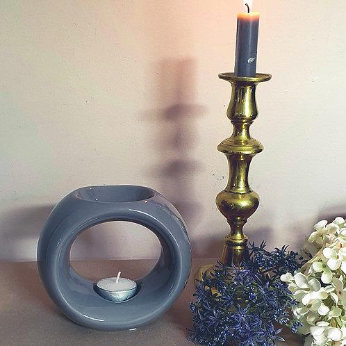 grey ceramic wax melt burner