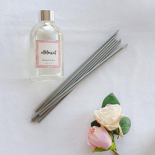 Rhubarb Rose Reed diffuser