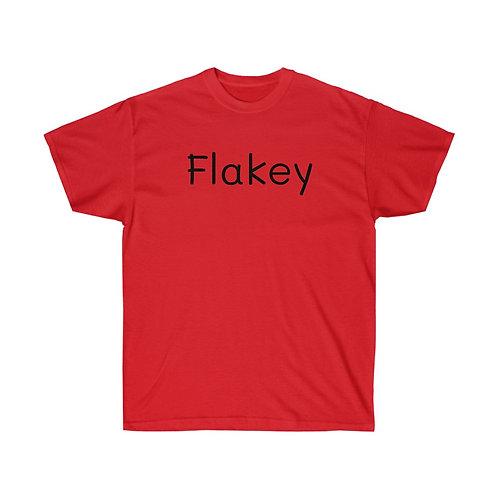 FLAKEY Unisex Ultra Cotton Tee