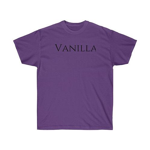 VANILLA Unisex Ultra Cotton Tee