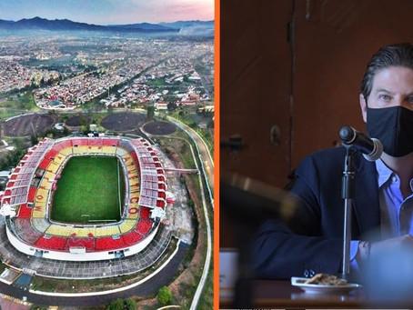 Por la salud de la ciudadanía, partido de Atlético Morelia se jugará sin público: Alfonso Martínez