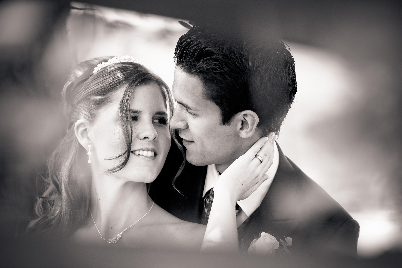 schwarzweiss Hochzeitsfotografie