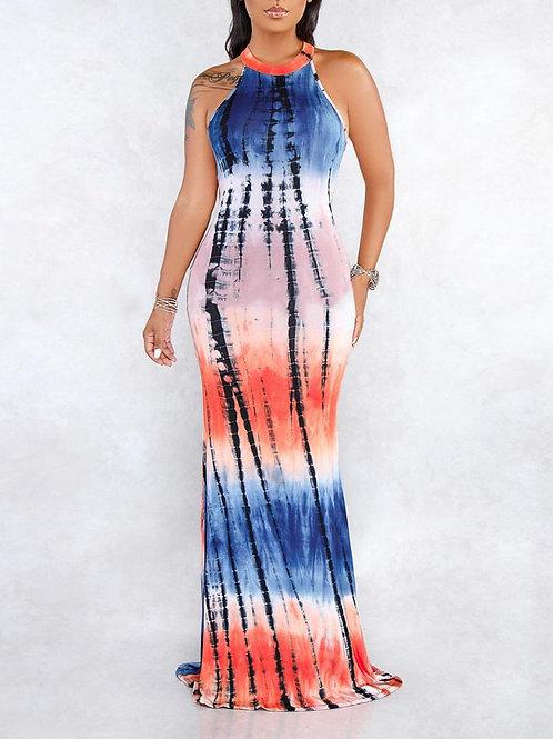 Casual Sleeveless Maxi Dress