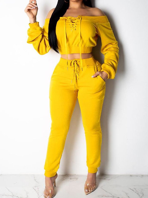 Yellow sexy sets.