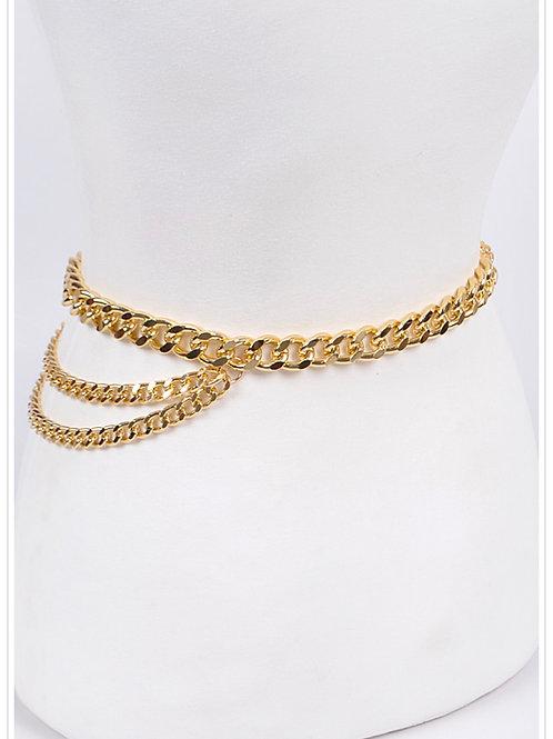 Layered Chain Belt