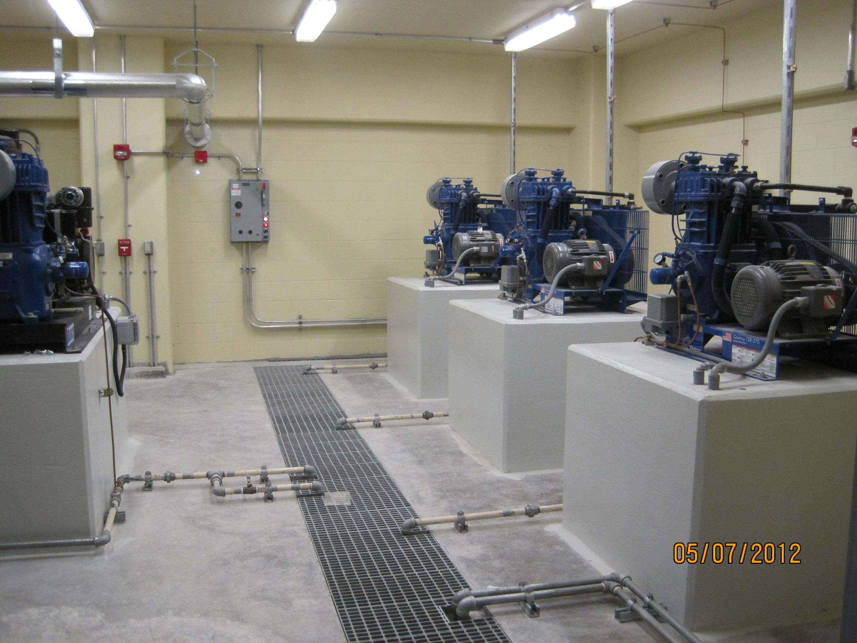 compressor room