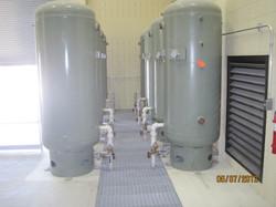 compressed air tanks