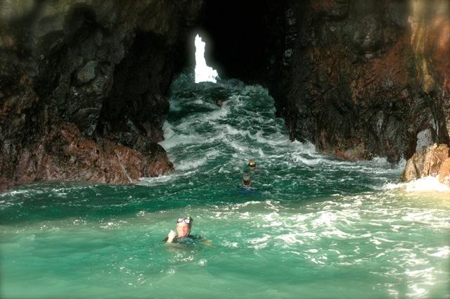 Coco Island cave