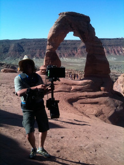 Delicate Arch-Arches National Park, RED Steadicam