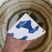 Cobalt Blue Summit Shape Vase