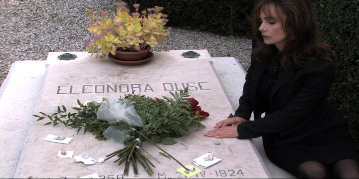 Jennifer at Duse's Grave