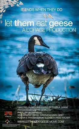 LET THEM EAT GEESE - POSTER