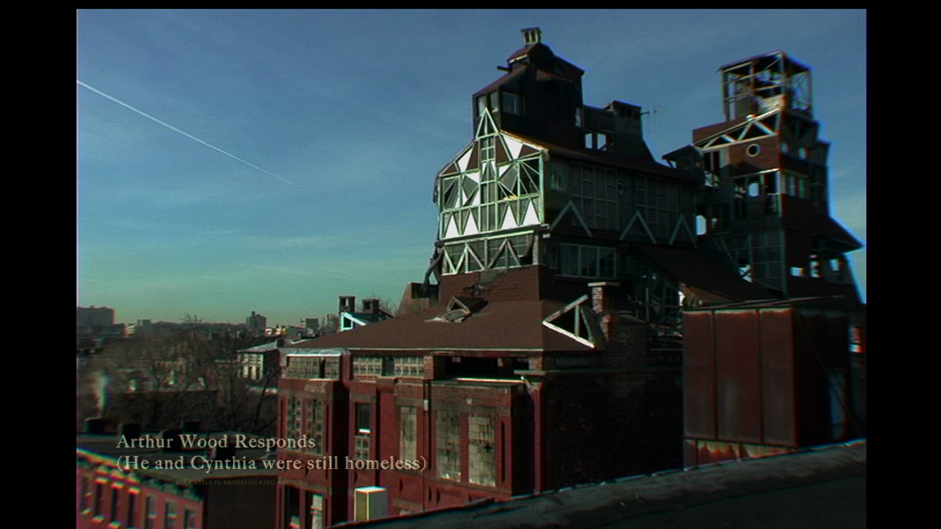 (MOVIE STILL) Broken Angel building