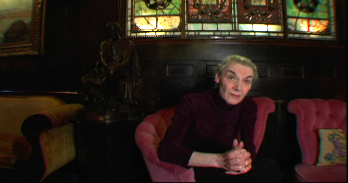 The late actress, Marian Seldes