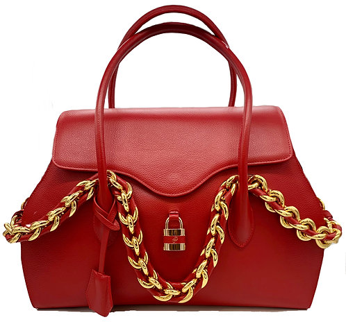 Large Red Darriel bag