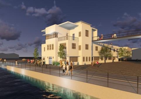 Visitor Center of Haifa Port