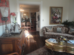 Sitting room looking into the dining
