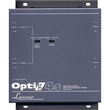 LANZAR OPTIG4S OPTIDRIVE COMPETITION SIGNAL PROCESSORS