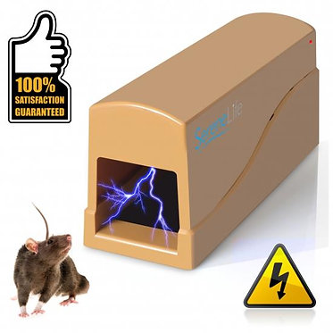Humane Rat & Rodent Trap, Electronic Mouse & Rat Exterminator Killer Zapper