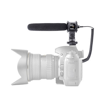 Video/Camera Condenser Shotgun Microphone with 3.5mm Connector