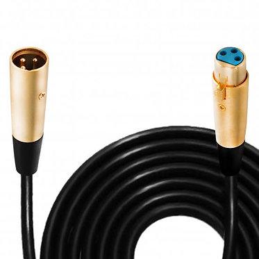30ft. Symmetric Microphone Cable XLR Female to XLR Male