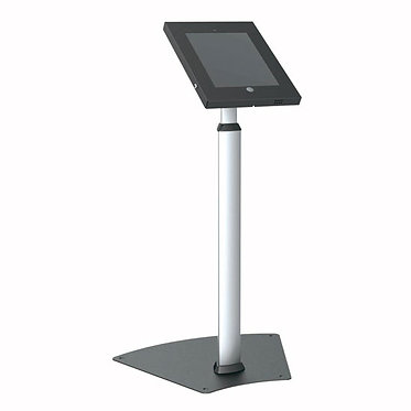 Tamper-Proof Anti-Theft iPad 2/3/4/Air Kiosk Security Floor Stand