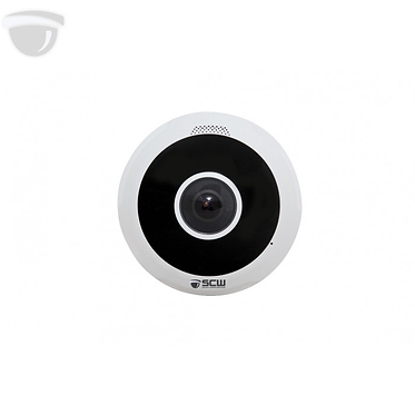 The Radius 12.0 - 26P12 - 12MP 360° Fisheye Dome Camera