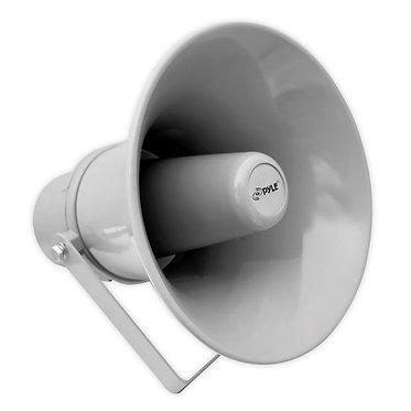 9.7'' Indoor / Outdoor 20 Watt PA Horn Speaker  w/ 70V Transformer