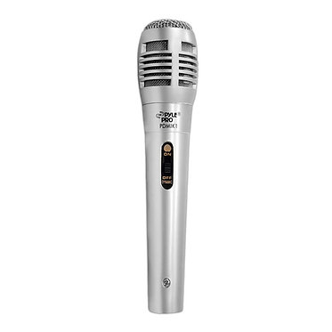 Dynamic Microphone, Moving Coil Handheld Mic 6.5' ft. XLR Cable