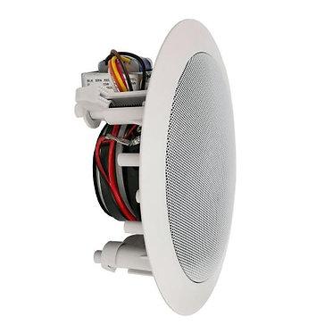 300W 5.25'' In-Wall / Ceiling 70V Flush Mount Low-Pro Speaker w/ Transformer