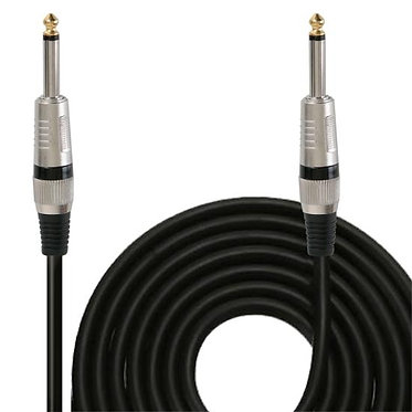 15ft. 12 Gauge Professional Speaker Cable 1/4'' to 1/4''