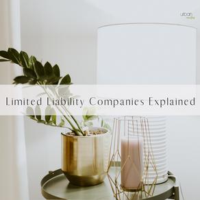 Limited Liability Companies Explained.