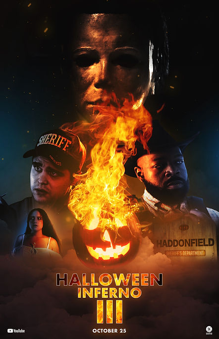 Halloween Inferno Part 3 Official Poster