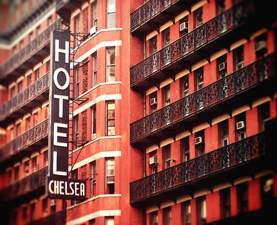 Dracula's Cousin: A Typical Evening at the Chelsea Hotel