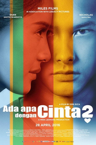 Supporting role as Roberto, acting alongside Indonesian stars Nicholas Saputra and Dian Sastrowardoyo.