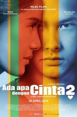 Supporting role as Roberto, acting alongside Indonesian stars Nicholas Saputra and Dian Sastrowardoyo.
