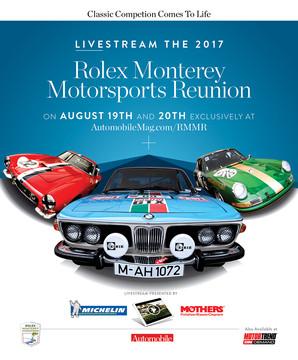 2017 Rolex Monterey Motorsports Reunion