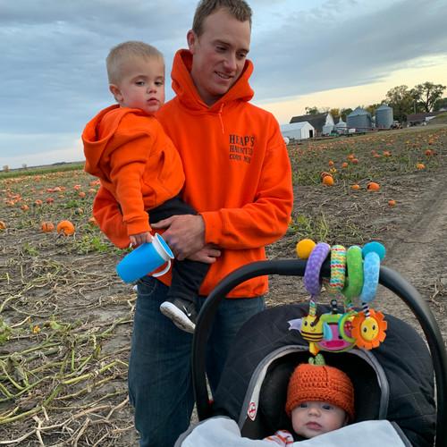 Heap family pumpkin patch